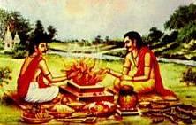 Огонь — живое существо, злоупотреблять им — значит навлекать на себя несчастья.